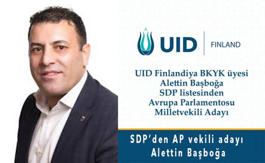 Finlandiya'dan Avrupa Parlamentosuna Türk Milletvekili Adayı