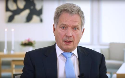 Hükümetin resmi kararı arefesinde Cumhurbaşkanı Niinistö'den
