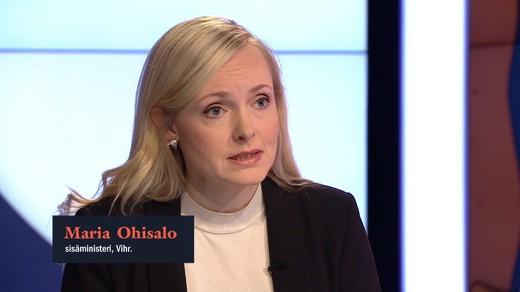 İçişleri Bakanı Maria Ohisalo: