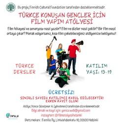 Türkçe Konuşan Gençler için Film Yapım Atölyesi
