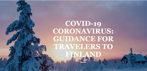 COVID-19 CORONAVIRUS: GUIDANCE FOR TRAVELERS TO FINLAND